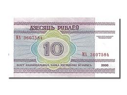 Bi�lorussie, 10 Rublei, type Biblioth�que Nationale
