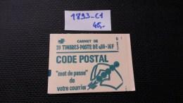 Carnet N° 1893-C1 Neuf ** à 20% De La Cote  TTB - Carnets