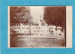 Yonne. - Photo Réelle Appliquée Sur Support Carte Postale Par Le Photographe - Avant-Garde Jouinienne, L´Escrime. - Joigny