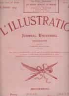 L ILLUSTRATION N° 3701 DU 31 JANVIER 1914 - Livres, BD, Revues