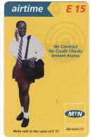 Swaziland, Airtime Prepaid Card E 15 - Swaziland