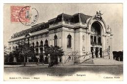 Hô-Chi-Minh-Ville - SAÏGON - Théâtre Municipal - Ed. Mottet Et Cie, Saïgon - Vietnam