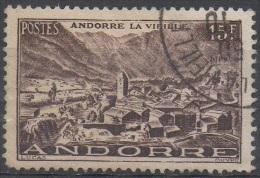 ANDORRE  FRANCAIS  N°132__OBL VOIR SCAN - Andorre Français