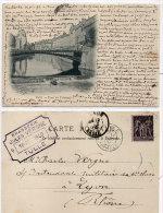 TULLE - Pont Du Tribunal  - 1900  (84204) - Tulle