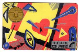 FRANCE F6 MACIF TOFFE 120U - 1987