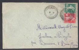 GIRONDE -  Cachet Pointillé De ST MICHEL DE CASTELNAU - Marcophilie (Lettres)