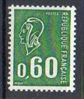 FRANCE - 1974 - Type Marianne De Béquet - N° 1815a - (gomme Tropicale) - Varietà E Curiosità