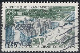 1969 - N° 1584 : Château De Chantilly (Oise) - Gebraucht