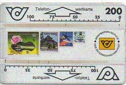Stamp Timbre Poste Autriche Télécarte Phonecard  J22 - Timbres & Monnaies