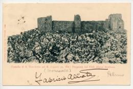 PALERMO MONREALE CASTELLO DI S. BENEDETTO SUL MONTE CAPUTO -  CLUB ALPINO SICILIANO 1902 - Palermo