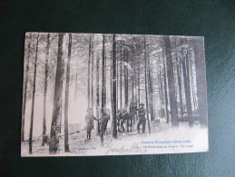 CPA -  LES AMERICAINS EN FRANCE - UN CAMP - GRANDVILLERS ? - War 1914-18