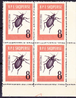 Albanien Albania Albanie - Riesen-Laufkäfer (Carabus Gigas) (Mi.Nr.: 737) 1963 - Postfrisch MNH - Albania
