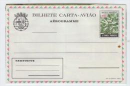 Sao Tome And Principe COFFE PLANT MINT AEROGRAMME - Stamps