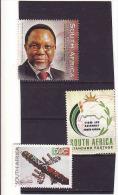 Afrique Du Sud 2008, 2009 Et 2010, Used - Afrique Du Sud (1961-...)