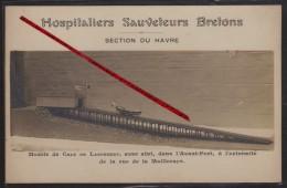76 LE HAVRE -- Hospitaliers Sauveteurs Bretons _ Section Du Havre _ Modèle De Cale De Lancement....rue De La Mailleraye. - Altri