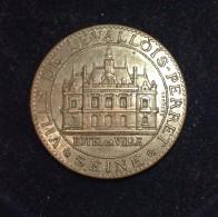 Médaille - CONSTRUCTION DE LA MAIRIE DE LEVALLOIS-PERRET En 1895 - M. POUBELLE, Préfet De La Seine. - Professionnels / De Société