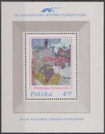 POLAND - 1975 Philatelic Exhibition Souvenir Sheet. Scott 2131a. MNH ** - Blocks & Sheetlets & Panes
