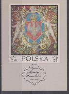 POLAND - 1970 Tapestry Souvenir Sheet. Scott 1779. MNH ** - Blocks & Sheetlets & Panes