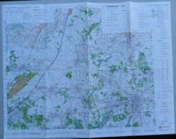 STAFKAART TURNHOUT 2008 MERKSPLAS WEELDE WESTMALLE OOSTMALLE BRECHT WUUSTWEZEL LOENHOUT BAARLE NASSAU HERTOG MALLE S167 - Cartes Topographiques