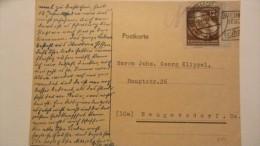 DDR Bis 64: Post-Karte Mit 12 Pf Weltfestspiele EF Auf Karte Nachträglich Entwertet In Neugersdorf Vom 11.11.51 Knr: 289 - DDR