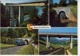 JAUNATAL - BAHN, Eisenbahn,   St. Paul - Bleiburg - Altri