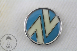 Vintage 1980's Spanish Railway Railroad Logo - Pin Badge - Marcas Registradas
