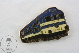 Spanish Train Locomotive/ Railway Engine - Pin Badge - Transportes