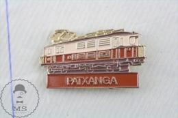 Spanish Train Locomotive/ Railway Engine Patxanga - Pin Badge - Transportes