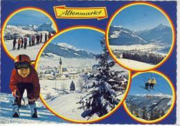 ALTENMARKT - Mehrfachansicht , Skischaukel Altenmarkt-Radstadt-Zauchensee - Altenmarkt Im Pongau