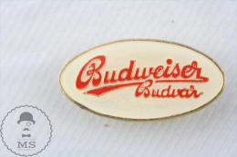Budweiser Budvar Beer Advertising  - Pin Badge - Marcas Registradas