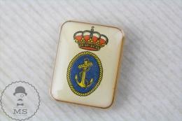 Spanish Navy Logo - Pin Badge - Militares