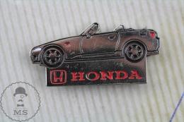 Honda S2000 Chromed Pin Badge - Transportes
