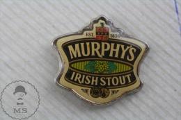 Murphy's Irish Stout Beer Advertising Pin Badge - Marcas Registradas