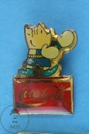 Barcelona 1992 Olympic Games Cobi Mascot Boxing, Coca Cola Advertising  - Pin Badge - Juegos Olímpicos