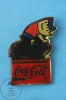 Barcelona 1992 Olympic Games Cobi Mascot Cycling, Coca Cola Advertising  - Pin Badge - Juegos Olímpicos