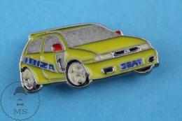 Seat Ibiza Spanish Rally Car Pin Badge - Pin