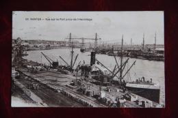 NANTES - Vue Sur Le Port Prise De L'Hermitage - Nantes