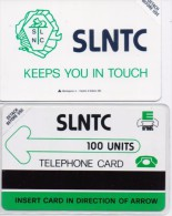 SIERRA LEONE PHONECARD SLNTC LOGO -100units-MINT/SEALED(bx1) - Sierra Leone