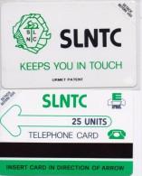 SIERRA LEONE PHONECARD SLNTC LOGO -25units-MINT/SEALED(bx1) - Sierra Leone