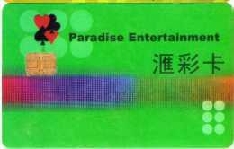 Carte Membre Casino : Paradise Entertainment Macau - Casino Cards