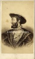 CDV Portrait De François 1er-par Furne Fils Et Tournier 57 Rue De Seine à Paris - Photos