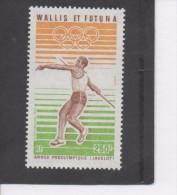 WALLIS Et F. Sport - Lancer Du Javelot - Athlétisme - Année Préolympique - - Poste Aérienne