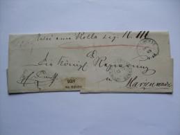 POLAND 1869 WRAPPER SCHLOCHAU (CZLUCHOW) TO MARIENWERDER PRUSSIA - Poland