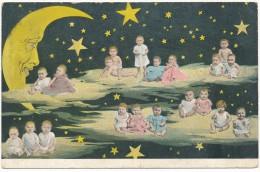 BEBES MULTIPLES - Bébés, Croissant De Lune, Etoiles - Bébés