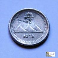 Guatemala - 1/4 Real - 1878 G - Guatemala