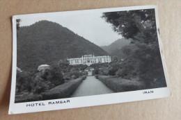 IRAN    -   TEHERAN HOTEL RAMSAR @ 2 VUES RECTO-VERSO - Iran