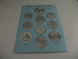COLOMBO  COLUMBUS MONETE E MEDAGLIE COMMEMORATIVE - Monete (rappresentazioni)