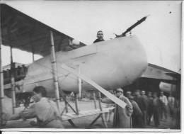 Maréchal Des Logis Rouen Pilote Sergent Major Régnier Qui Ont été à Bucarest 1 Photo 1914-1918 Ww1 Wk1 - War, Military