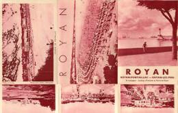 Dép 17 - Charente Maritime - Royan Pontaillac - Dépliants Touristiques - 2 Scans - Toeristische Brochures