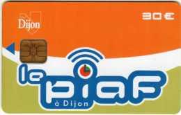 Carte De Stationnement PIAF : Ville De Dijon 30 € : 09/11 2000 Ex - Frankrijk